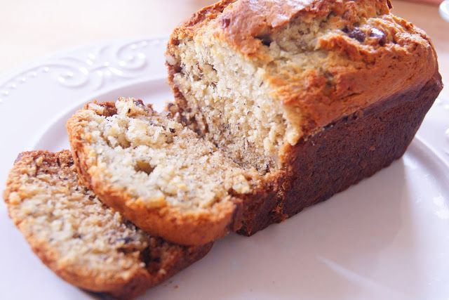 Inspired by Life: Banana Walnut Chocolate Chip Cookie Bread