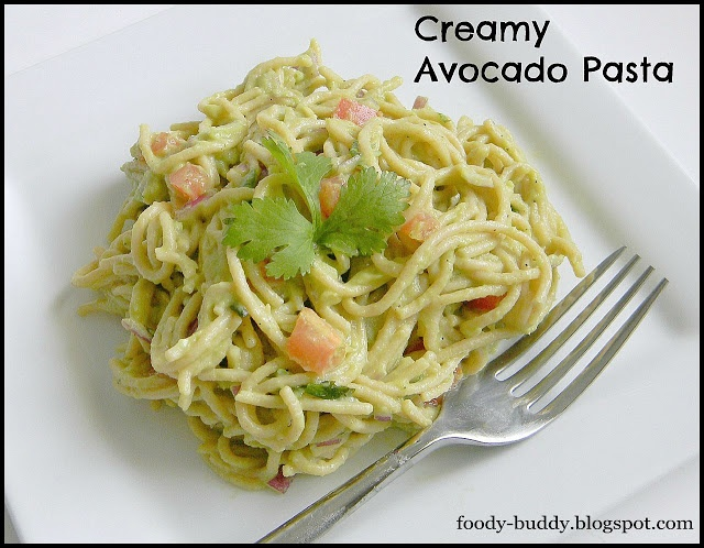 creamy avocado pasta | Recipes to try | Pinterest
