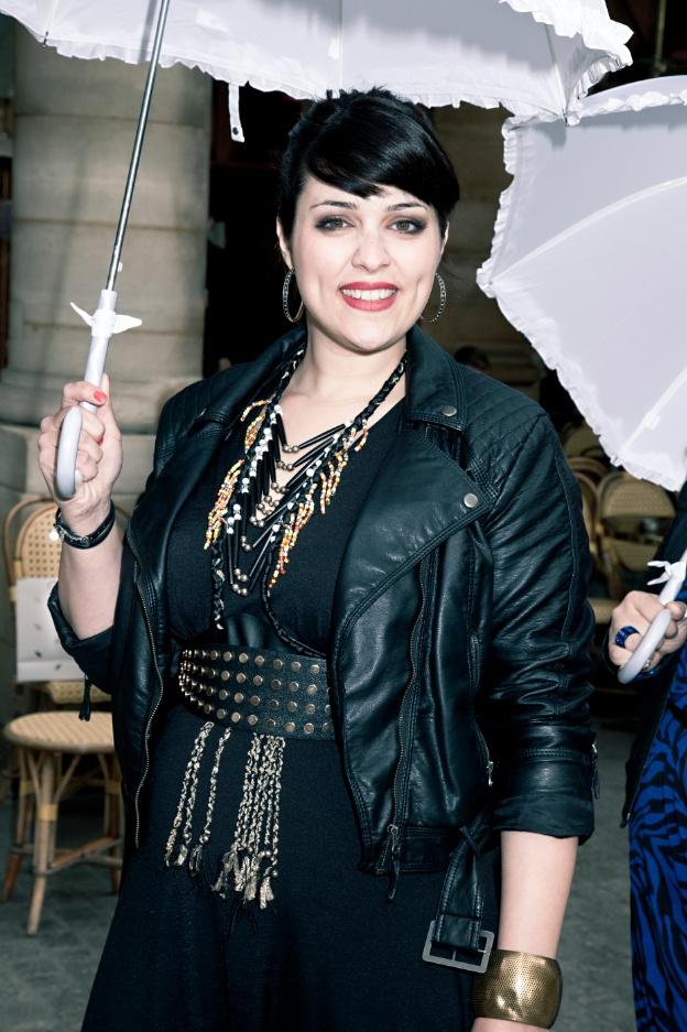 Aurélie, notre mannequin. #defilejmp  Crédit Photo: Land Play  Maquillage: ITM  Bijoux: Tchenko Casual Chic