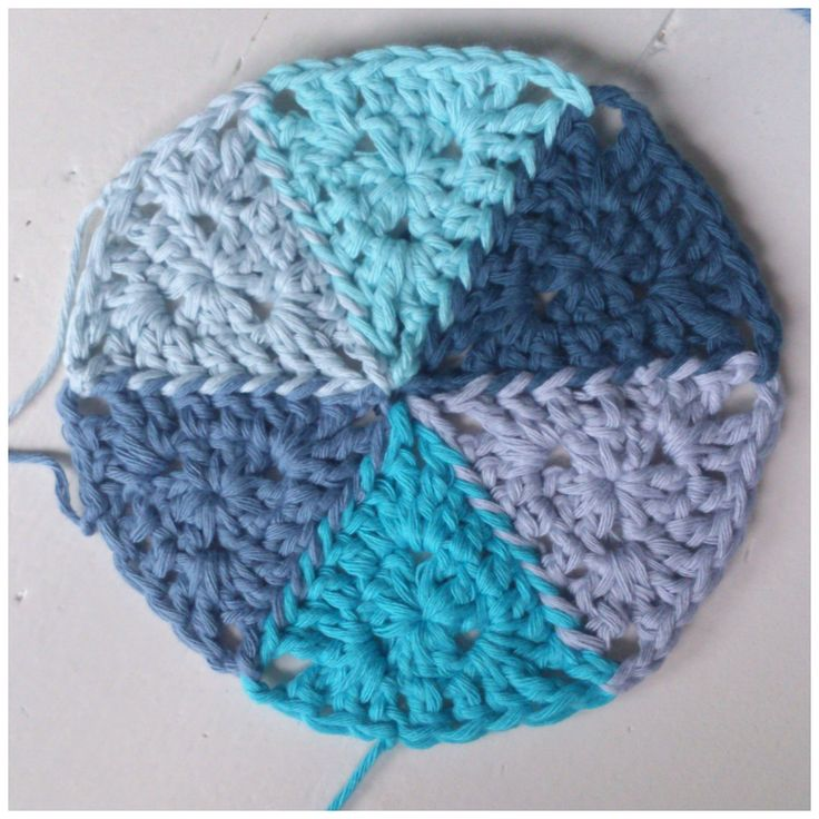 Crochet Triangle : Crochet Triangle Pattern