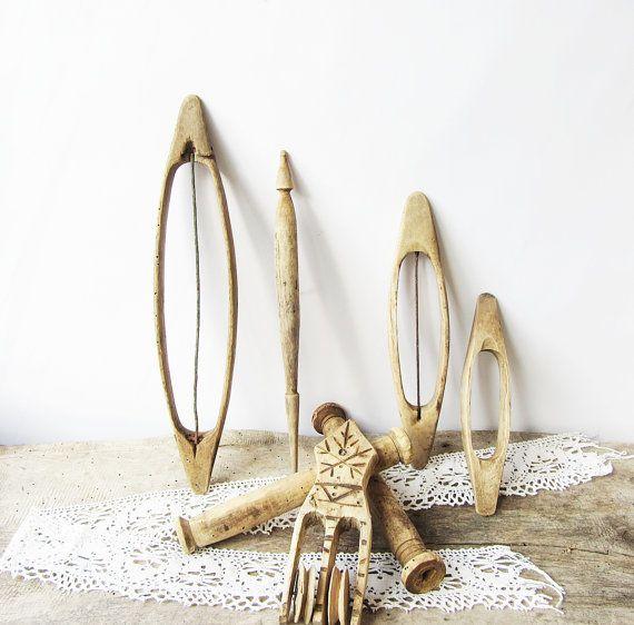 antique wooden tools 1800s primitive wood tools tools for weaving hand