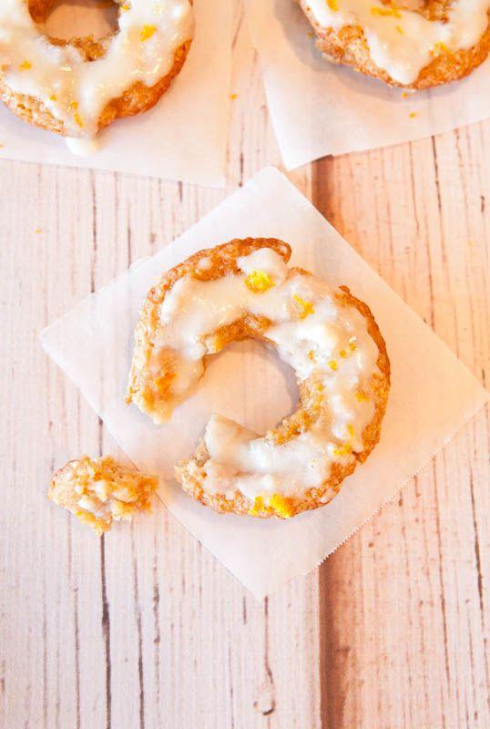 ... Coconut Banana Donuts with Orange Coconut Vanilla Cream Cheese Glaze