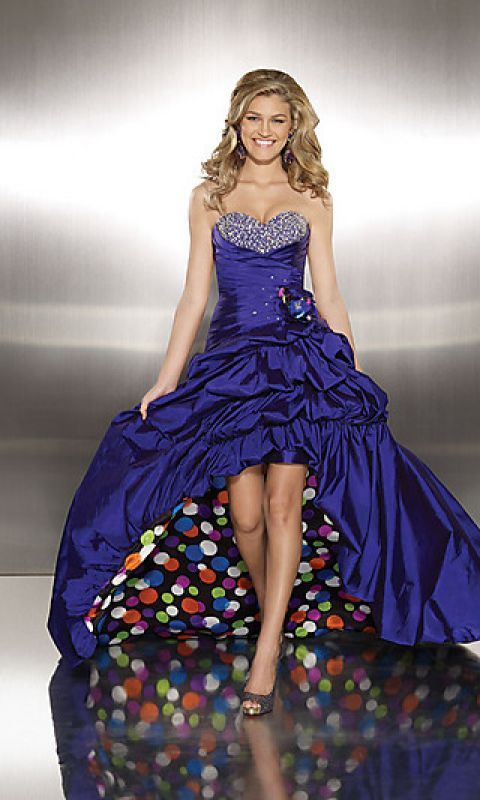 colorful prom dresses