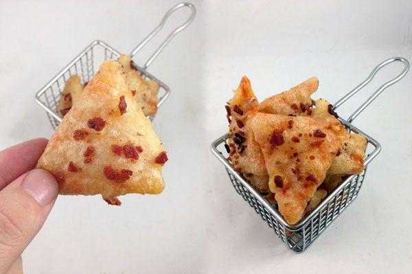 ... deep fried tofu squares deep fried five spice rolls deep fried