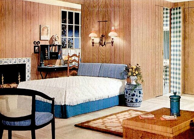 bedroom 1960 1960 39 s bed and bath pinterest