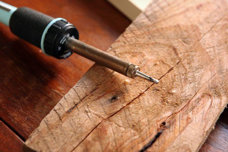 how to burn wood using a solder gun. Black Bedroom Furniture Sets. Home Design Ideas