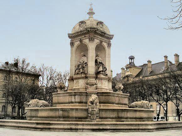 Pin by nanon family on fontaines lavoirs puits ch teau d 39 eau - Fontaine eau gazeuse paris ...