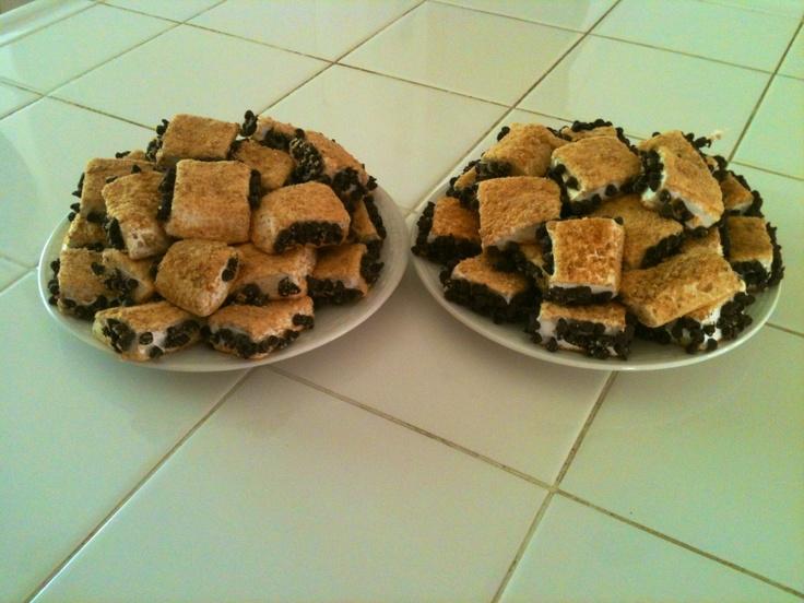 Homemade Marshmallow S'mores | Mitron Bakery | Pinterest