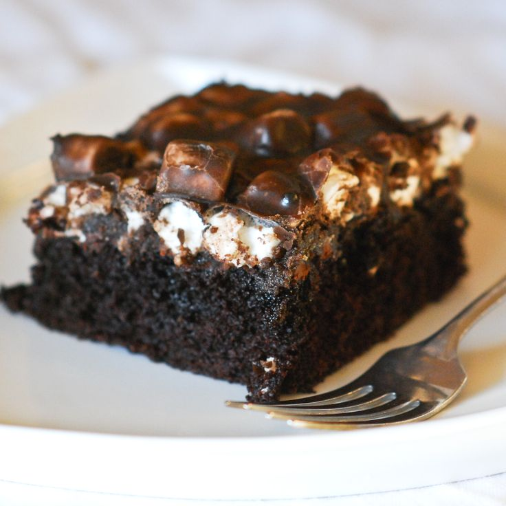 Mississippi Mud Cake | Sweet Treats | Pinterest