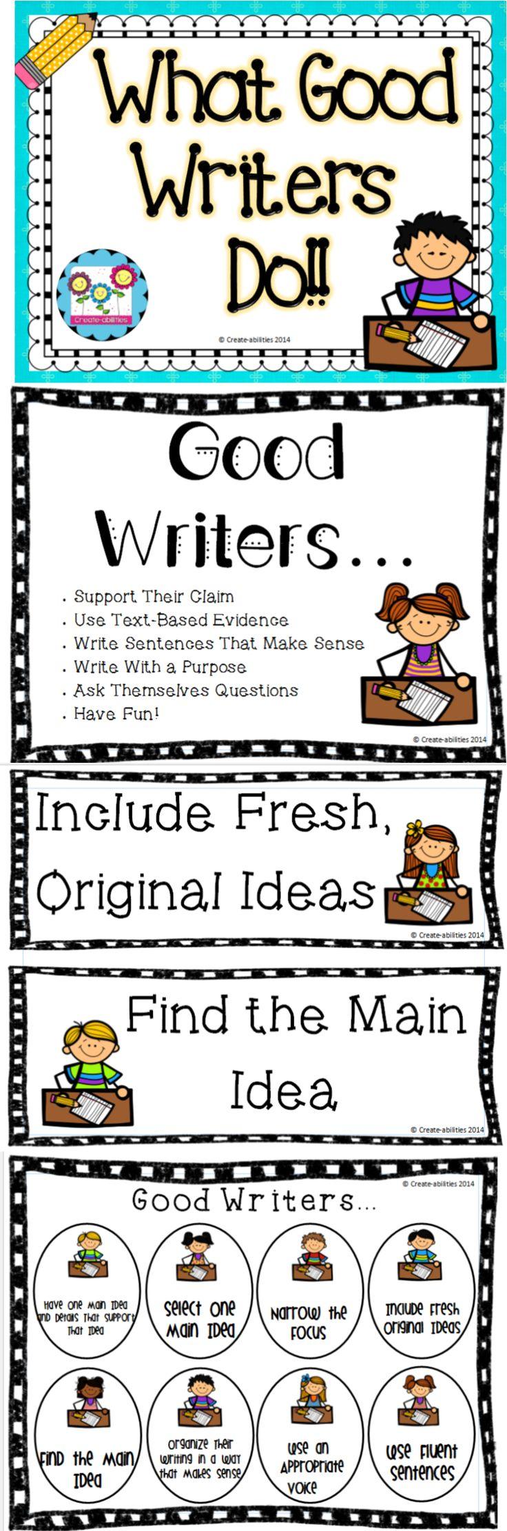 essay good writing