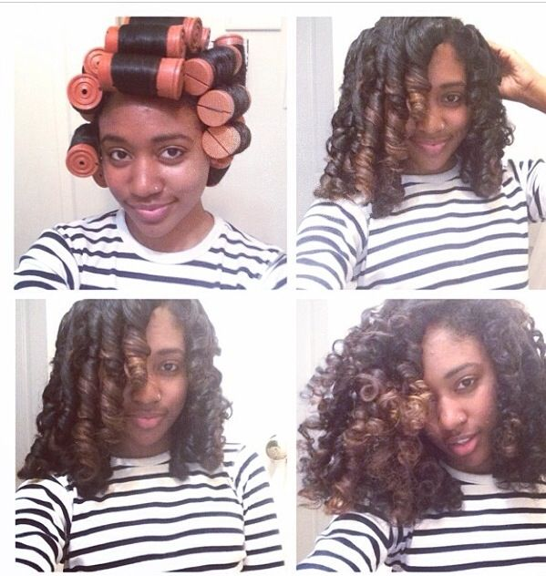 natural nappy hairstyles : Perm Rods & Natural Hair: Which Size Will Create Your Desired Look?