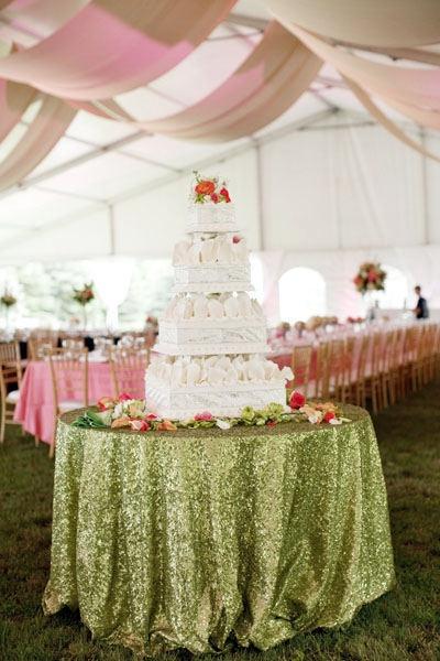 WEDDING Cake Table Brides And Weddings Pinterest