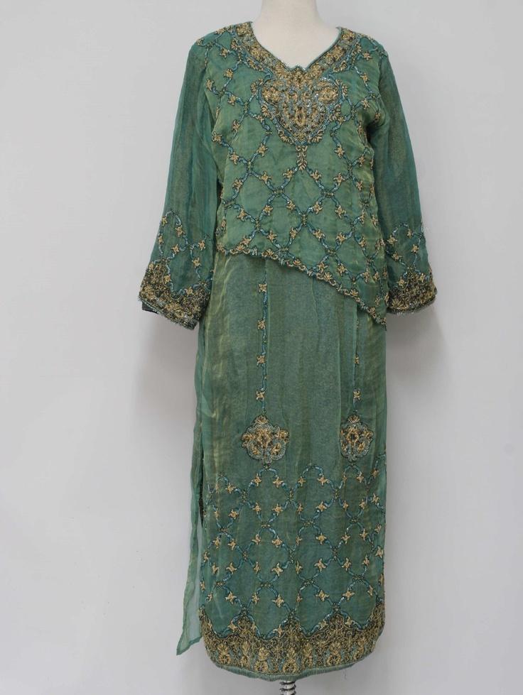 Galerry flared cuff dress