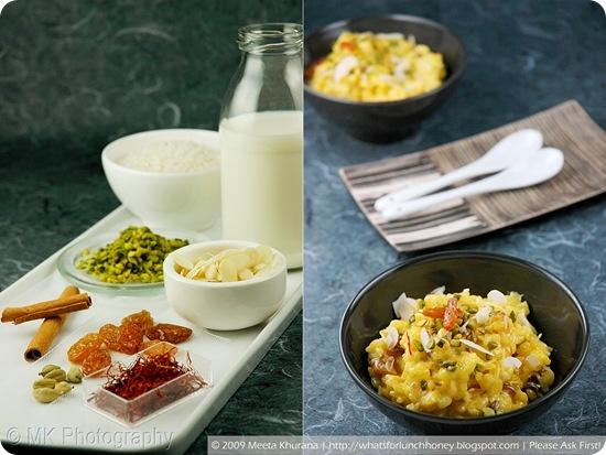 Worldly dessert idea: Kesar di Kheer - Saffron Rice Pudding #recipe by @MeetaWFLH