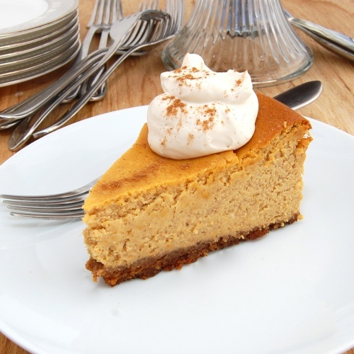 Pumpkin-Bourbon Cheesecake With Graham-Pecan Crust | Recipe