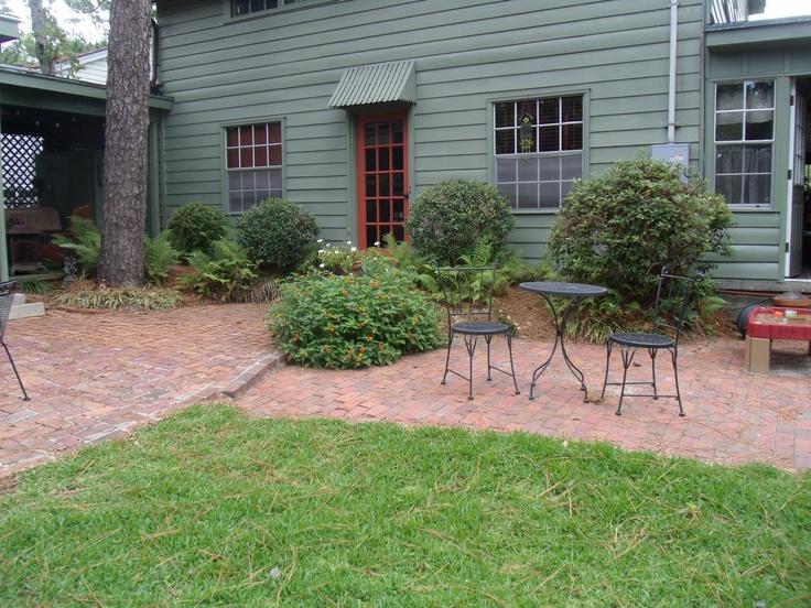 brick patio and paint color outside ideas pinterest