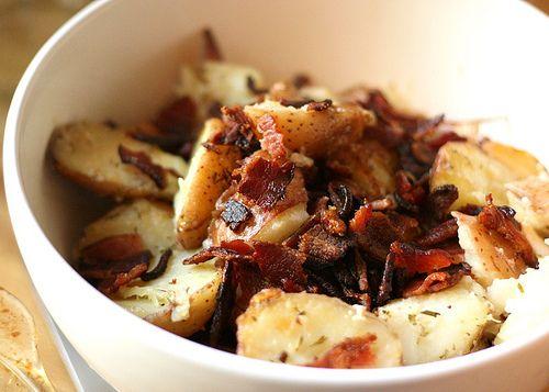 Roasted Chicken and Potatoes with Garlic, Lemon, & Rosemary, YUM!