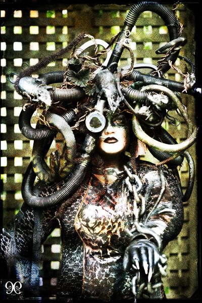 steampunk medusa story ideas pinterest