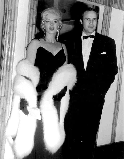 Marilyn Monroe and Marlon Brando | ★MARILYN★ | Pinterest