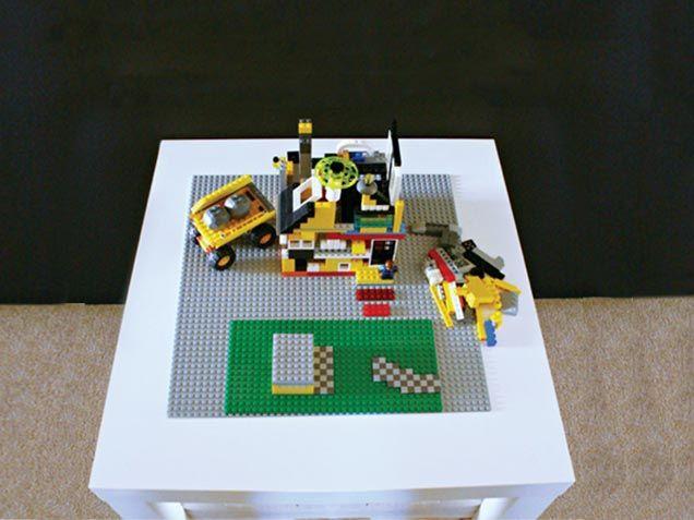 30 days of holidiy ikea lego table for Table lego ikea