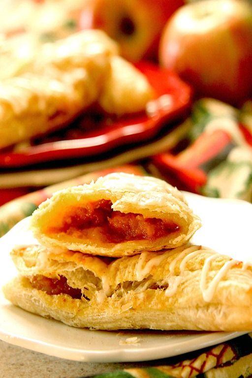 Caramel Apple and Pumpkin Turnovers | Sweet Treats! | Pinterest