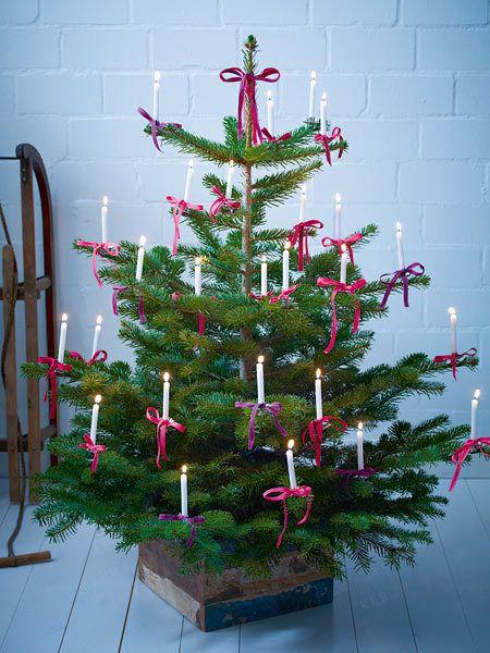 weihnachtsbaum schmücken modern