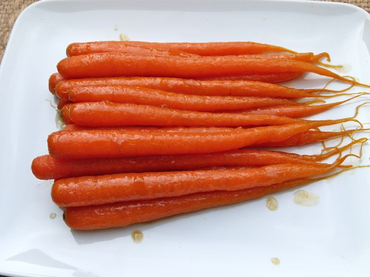ginger and honey-glazed carrots | CampusCuisine by Hollyberry | Pinte ...