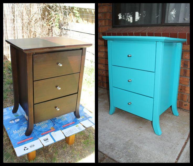 Painting Old Dresser Pinterest Crafts
