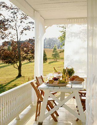 **simple country porches**