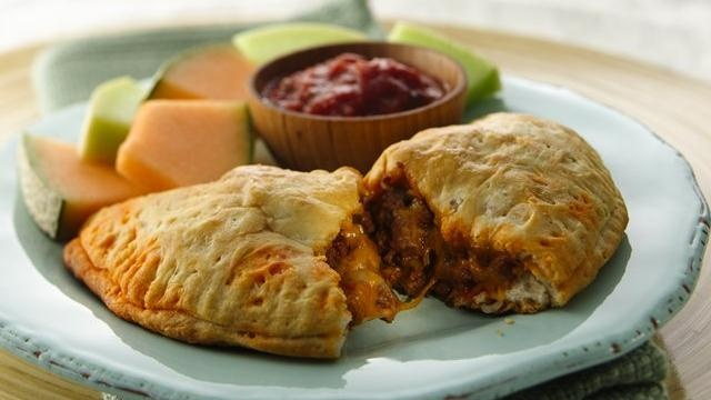 Grands!® Taco Melts | Pillsbury -- These are great! I've also stuffed ...