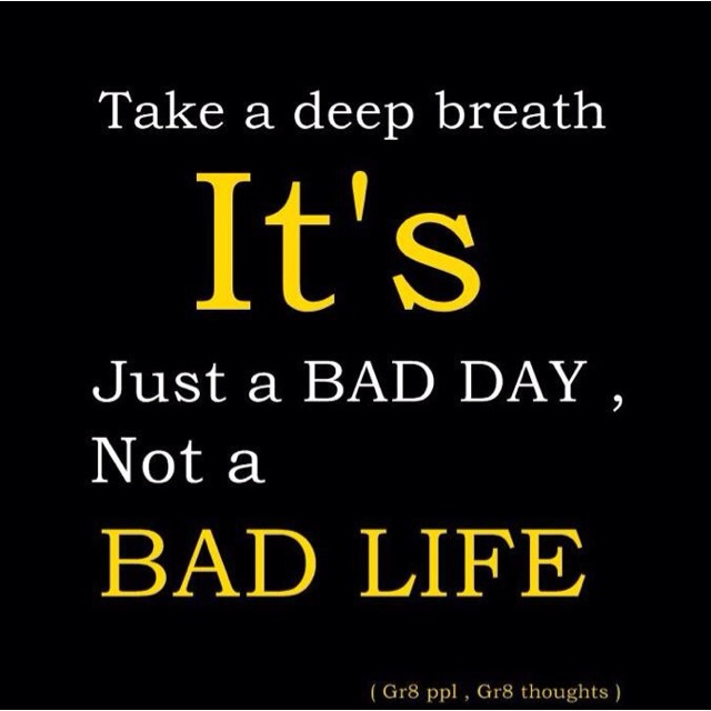 Don't be sad..