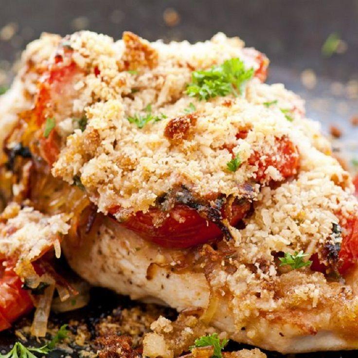 Easy, Chicken Parmesan | food | Pinterest