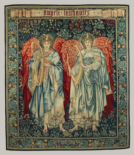 Victorian Angels Tapestry Weaving Best Art Of Edward Burne Jones Images On Pinterest
