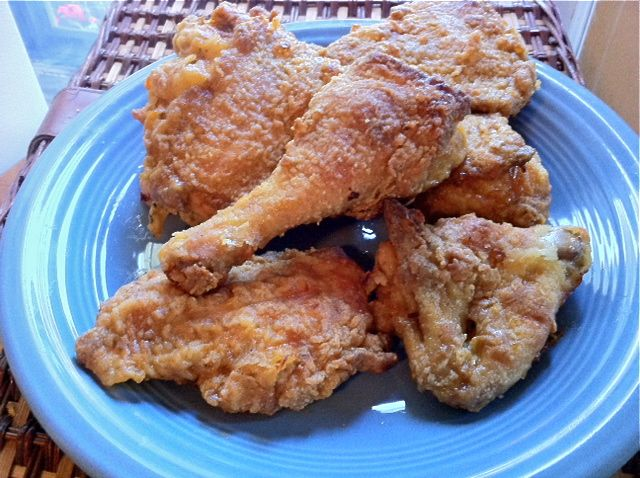 Easy Oven Fried Chicken | Food | Pinterest