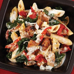 Baked Ziti with Creamy Kale & Sausage | Dinner ideas | Pinterest