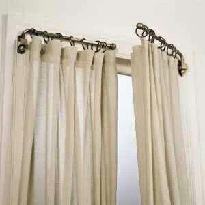 Curtains swing arm rod h0me sweet h0me pinterest
