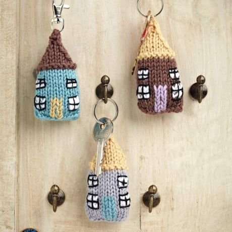 Free Knitting Patterns For Keyrings : Home & away keyrings TheMakingSpot Crochet and Knitting Craftines?