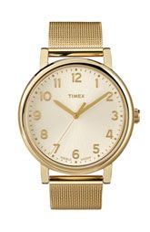 Gold Timex