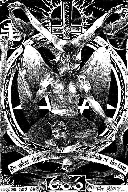 Сатанинский секс порно фото