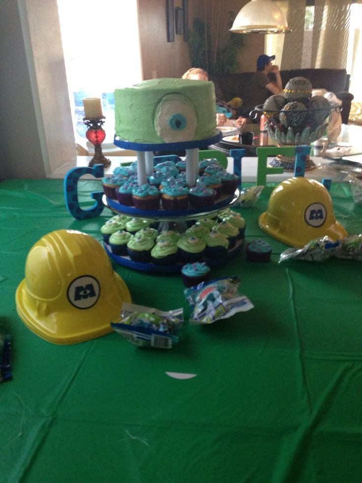 monsters inc baby shower boy baby shower pinterest