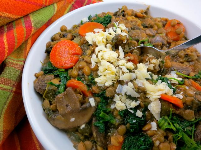 Lentil vegetable soup | Favorite Recipes | Pinterest