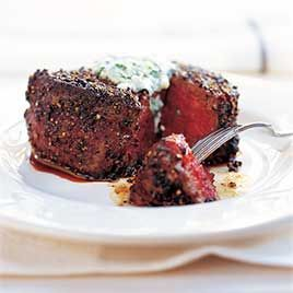 Pepper-Crusted Filet Mignon - Cooks Illustrated - my FAVORITE recipe ...