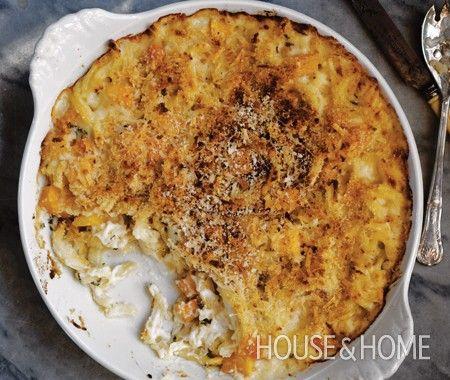 Butternut Squash Pasta Al Forno | recipes | Pinterest