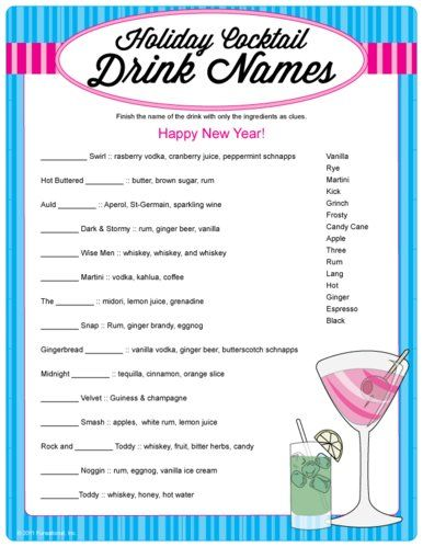Pin by sanet 39 s fun stuff on fun games pinterest for Names of mix drinks