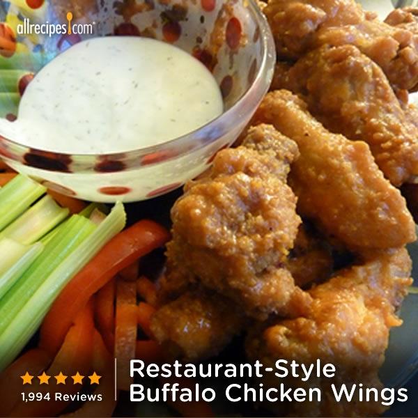 ... Restaurant-Style Buffalo Chicken Wings) http://allrecipes.com/video