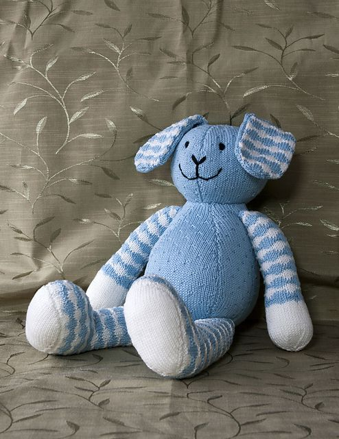 Free Peppa Pig Knitting Pattern : Free Pattern: Rabbit Toy by Patons UK KNITTING FOR BABIES/TODDLERS