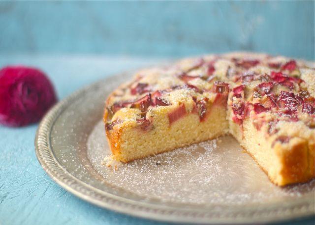 Quick Rhubarb Cake - The Seaside Baker | Oh, sweet life | Pinterest