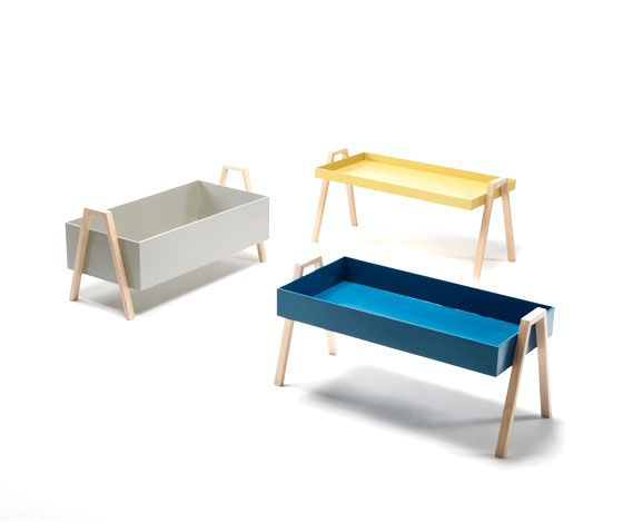 'Stack' occasional table by Nathan Yong for Living Divani.