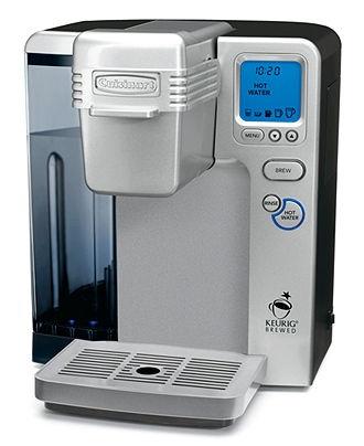 Cuisinart Coffee Maker Amps : Cuisinart SS-700 Coffee Maker, Single Serve Brewing System