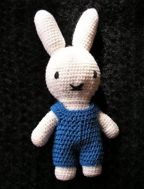 Miffy Amigurumi Crochet Pattern Free : Miffy bunny #free #crochet #pattern My crochet and knit ...